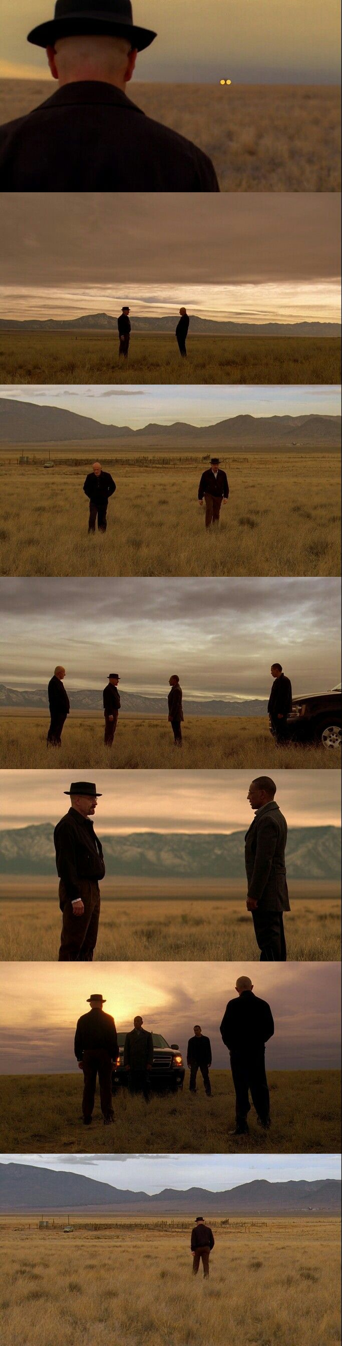 Breaking Bad Season 3 Episode 13 Opening Scene.