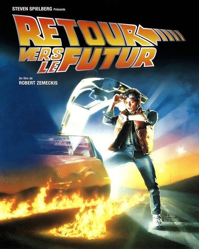 Retour Vers Le Futur Incontestablement Un Film Qui A Marque Les Annees 80 Et Bien Plus Tu As Aime A Lepoq The Future Movie Future Poster Back To The Future