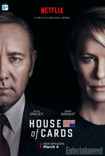 El próximo 4 de Marzo #Netflix estrena la cuarta temporada de 'House of Cards'