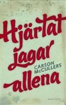 Hjärtat jagar allena / Carson McCullers ......................Det är slutet av 1930-talet i Georgia. Den dövstumme John Singer är den ende som kan förstå ett antal människors drömmar: Mick Kelly som vill kunna spela, hålla konserter och komponera, Jake Blount vars dröm är att få kommunister att samla sig och doktor Copeland som vill att de svarta ska resa sig tillsammans med honom. #boktips #romaner #1930talet #rasism #funktionshindrade
