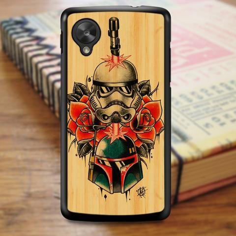 Star Wars Wood Tatto Nexus 5 Case