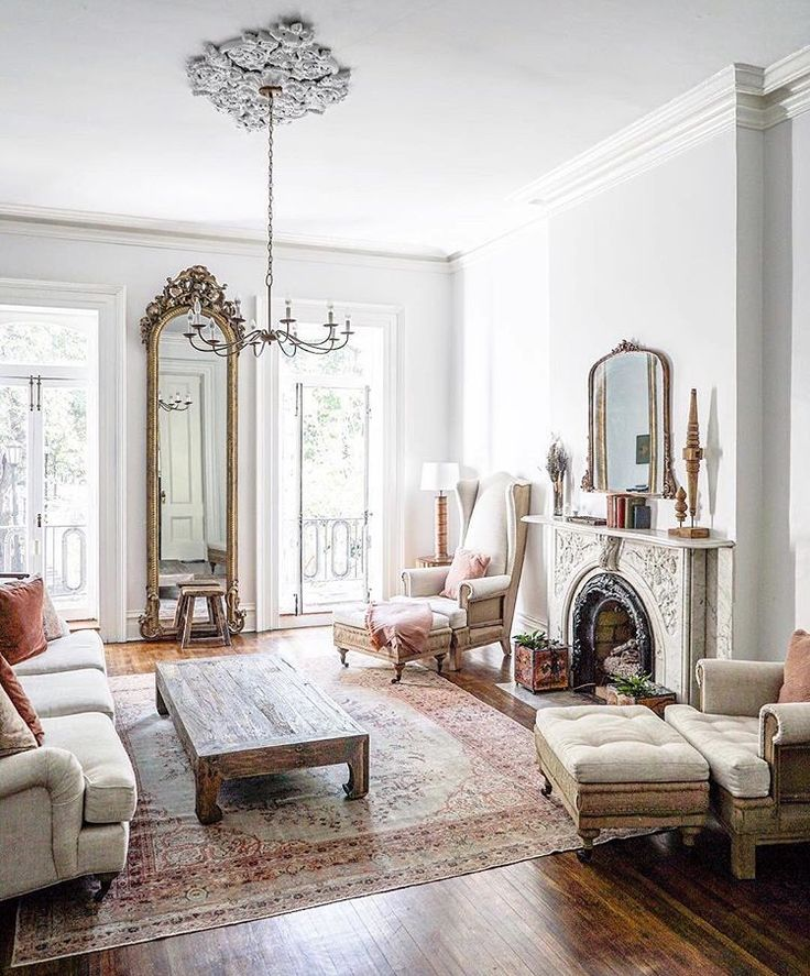 Romantic. Love the tall ceilings