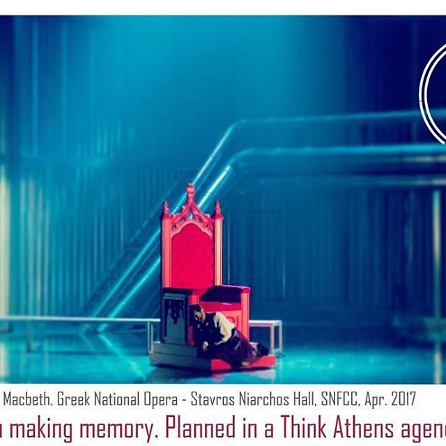 #macbeth #snfcc #firstperformance #gno #greeknationalopera  #visitAthens #AthensGoodLife #citybreak⠀  ⠀  Photo: @greek_national_opera
