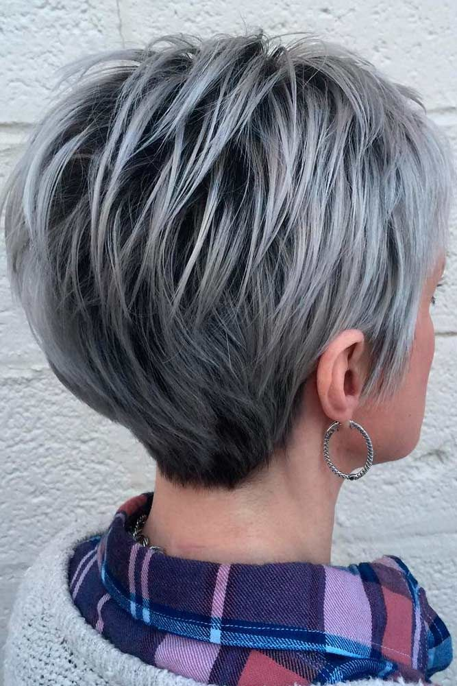 Trendy Short Haircuts For Women Over Fifty See More Http