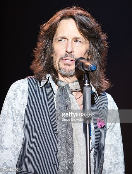 Vocalist Kelly Hansen of Foreigner performs in front of a sold-out ...
