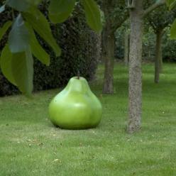 Quoi de plus original et élégant que la Céramique Poire de chez Cores da Terra pour décorer votre jardin ?