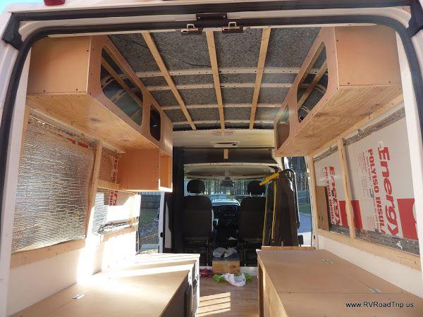 Promaster Conversion Upper Cabinets Van Conversion Interior Van