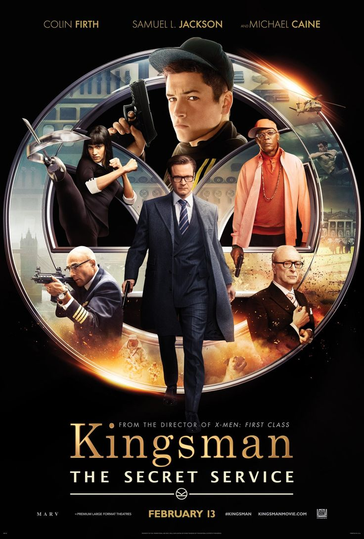 Kingsman: The Secret Service (February 13 2015) - A veteran secret agent takes a young upstart under his wing.