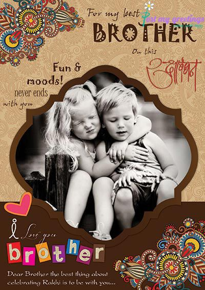 Cherish all those naughty moments that you've shared with your beloved siblings. Making People Happy :)