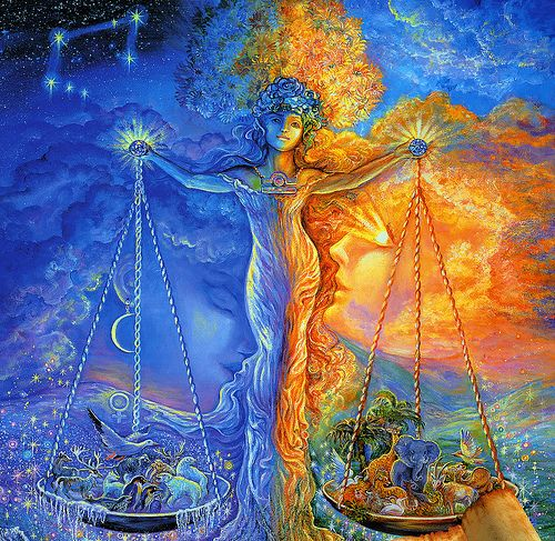 005-Libra-Calendario 2009-Josephine Wall-via www.dana-mad.… | Flickr