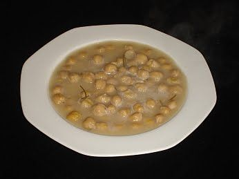 Chickpea Soup (Revithia). This is a lovely warm, nutritious dish - just the thing on cold winter days!