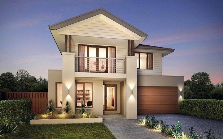 Metricon home designs the elysian coastal facade visit for Metricon new home designs