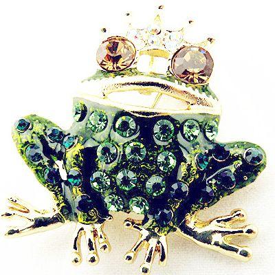 Купить товарЮвелирные изделия 18 Kgold покрытие зеленый глазури прекрасные лягушка с короной кристалл горный хрусталь шарф клип броши для женщины в категории Брошина AliExpress.     Ooch, брошь в виде цветка                  Добро пожаловать в профессиональный внешней торговли оптового отдела