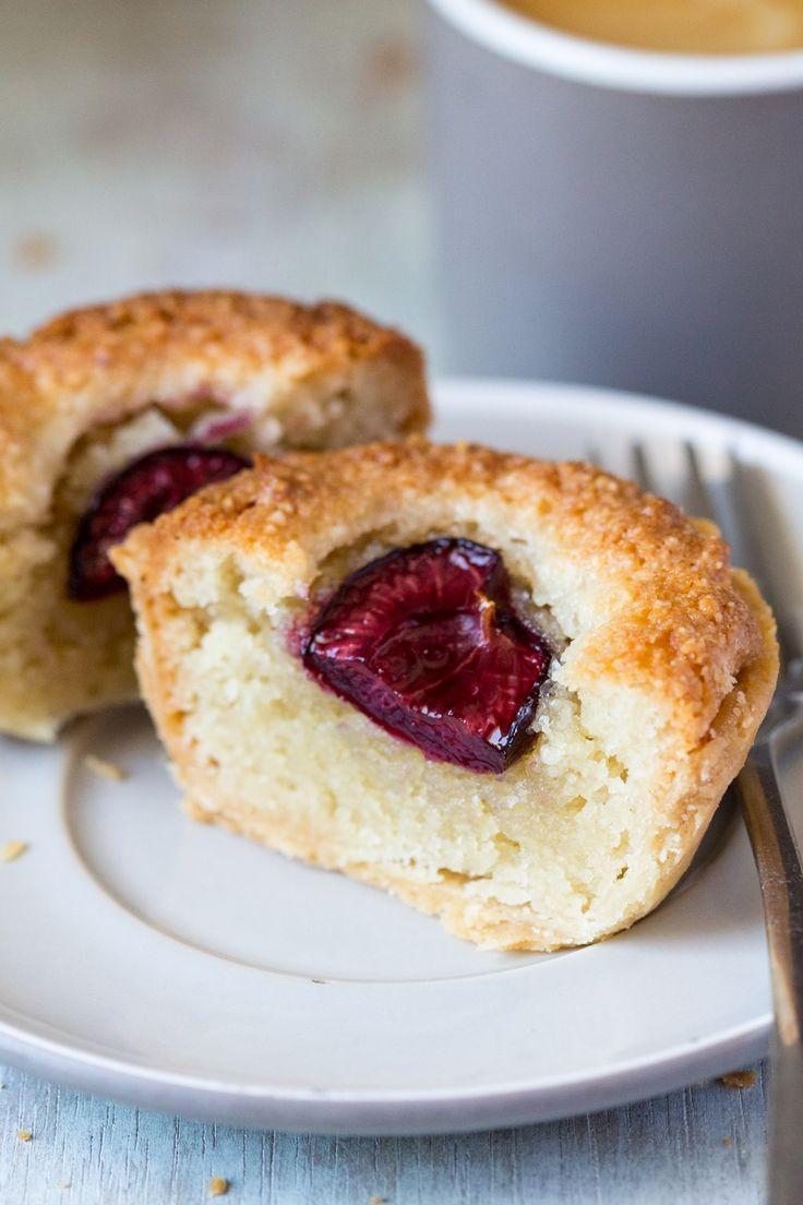 Vegan bakewell tarts - Lazy Cat Kitchen