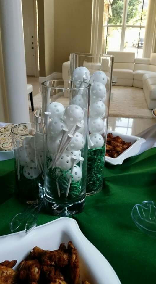 Golf First Birthday Party by UED. Theme: A Hole in One