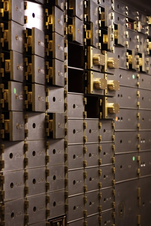 ABANDONED BANK VAULT, WOOLWORTH BUILDING, NEW YORK