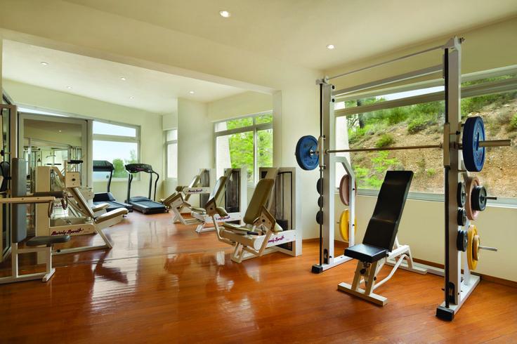 Keeping fit at Ramada Loutraki Poseidon Resort! #loutraki #gym #fitness