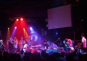 http://www.dummymag.com/new-music/caribou-s-vibration-ensemble-live-in-new-york-featuring-kieran-hebden-sun-r