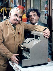 Open All Hours, Ronnie Barker leching after Nurse Gladys, David Jason's much put upon life and a murderous cash register