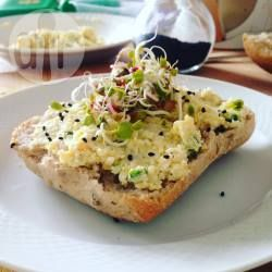 Zdjęcie do przepisu: Pasta z jajek