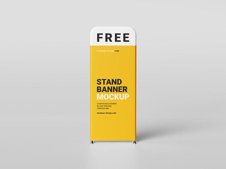 Stand sign mockup
