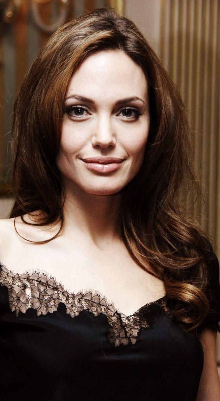 手机壳定制shox   usa Angelina Jolie