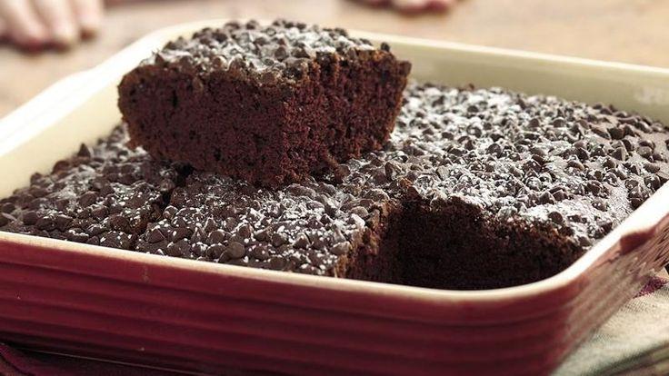 Double chocolate cake recipe easy