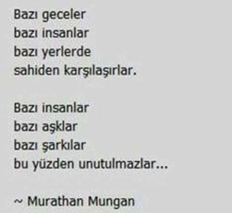~ Murathan Mungan