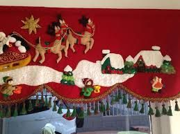 Resultado de imagen para moldes cenefas navideñas en paño lency