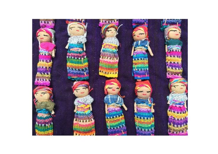 Print for kids rooms -Guatemalan Worry Dolls