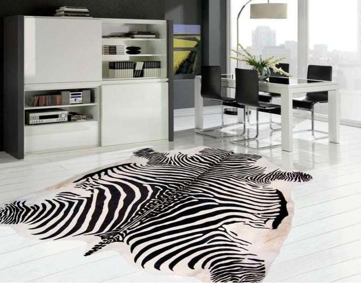 Las 25 mejores ideas sobre alfombras de cebra en pinterest - Alfombras de cebra sintetica ...