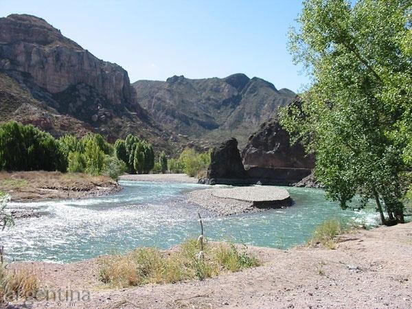 Río Atuel, San Rafael, Mendoza