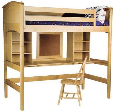 Sturdiest Loft Bed With Desk Twin