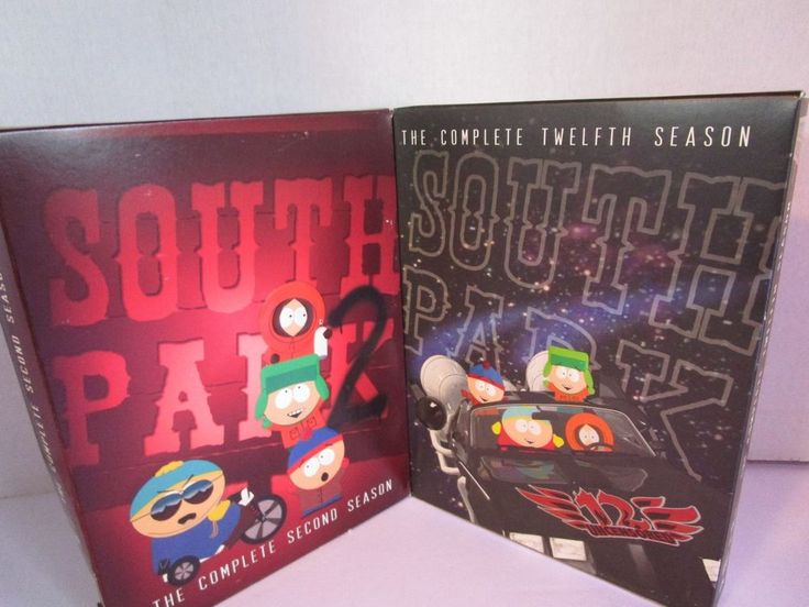 South Park 2nd Season & South Park 12th Season DVDs Total of 4 Disc 2 Missing #ComedyCentral