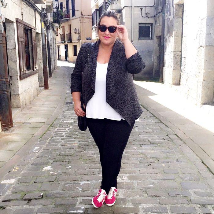 Plus Size Fashion Adidas Gazelle- Street Style- Pink | Plus Size Fashion | Pinterest | Pink ...
