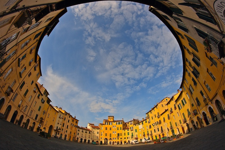 PIAZZA ANFITEATRO - LUCCA - If you LIKE Tuscany, see more photos on www.facebook.com/amazingtuscany and press LIKE