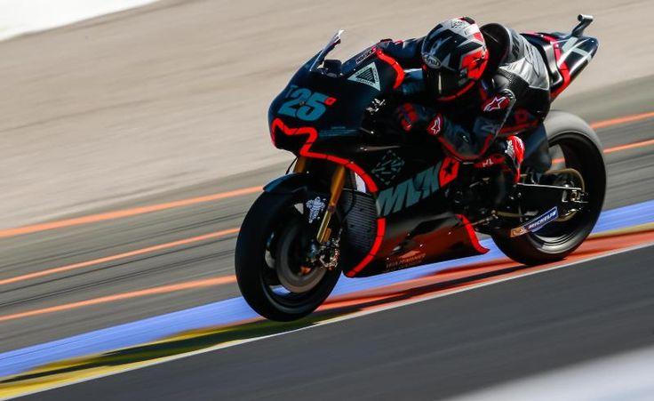 MotoGP   Test Valencia, day-2: Vinales ancora super, paura per Rins
