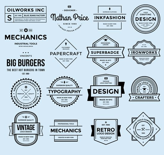 17 Free PSD Badge Logos