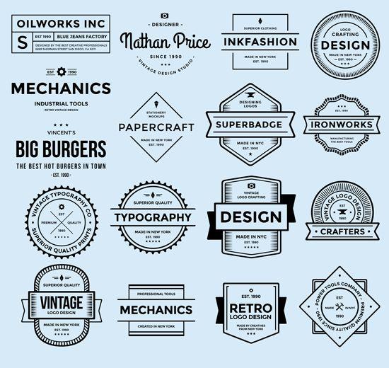 17 Free PSD Badge Logos