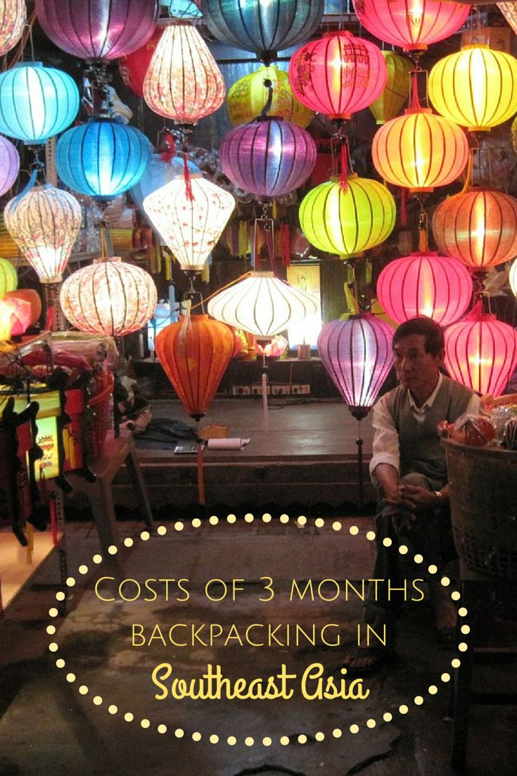 What were the costs of 3 months backpacking in Southeast Asia? Inc. average costs per day, price examples and budget tips. By Bunch of Backpackers. #Backpacking #SoutheastAsia #RTW
