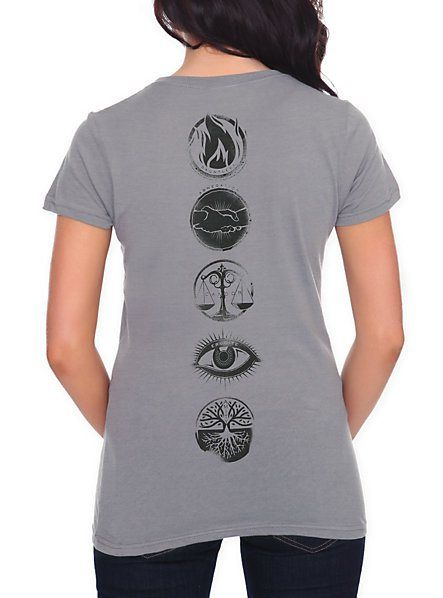 Divergent Factions T-Shirt,  Just like Four's tattoos on his back! <4 I WANT THIS SHIRT SO BAD