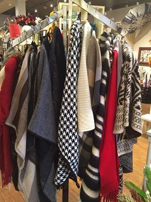 Over 2 dozen capes and blanket scarves to choose from… perfect for fall weather!  You know how we operate at Crafted Decor… only small quantities of fashion accessories - so stop in soon!  #fashion #fallfashion #retailtherapy #fashionista #unique #ontrend #newarrivals #cape #blanketscarf #scarves #bootsocks #accessorize #Mississauga #Streetsville #CraftedDecor