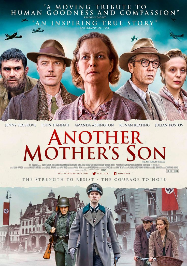 Another Mother's Son (PG) Available 7 February – Outdoor from 7 May 2018 War/Drama, Rated PG, 103 Minutes. Starring Jenny Seagrove, John Hannah Based on the true story of Louisa Gould, the drama is set during World War II on the Nazi-occupied island of Jersey. Lou took in an escaped Russian POW and hid him over the war's course. The tension mounts as it becomes clear that Churchill will not risk an assault to recapture the British soil, and the island-community spirit