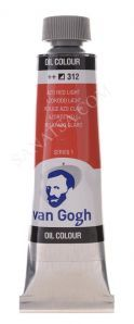 Talens Van Gogh Yağlı Boya 40 ml. 312 Azo Red Light
