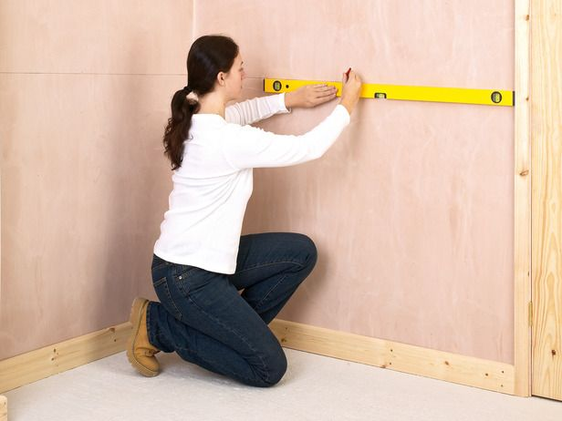 fitting a dado rail to a wall - instructions