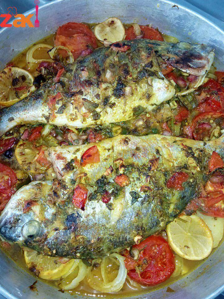 طريقة عمل السمك المشوي Food Main Dishes Seafood