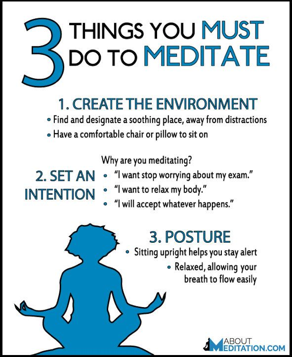 3 Things You Must Do to Meditate | Meditation, Mindfulness ...