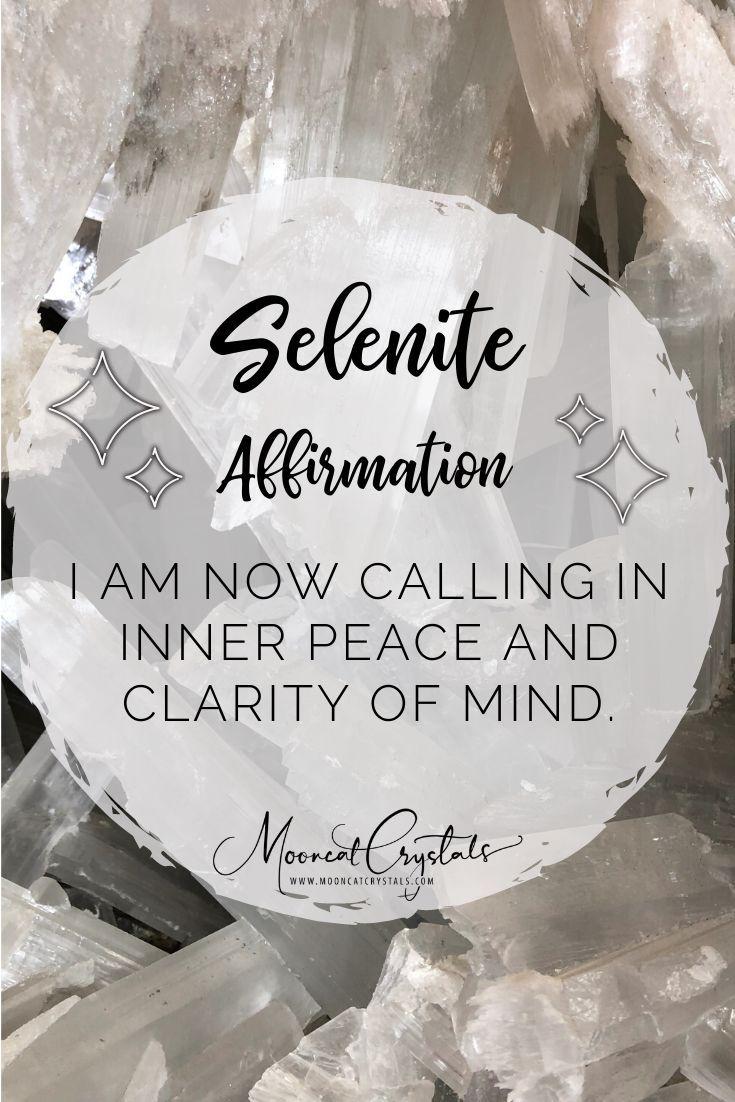 Selenite Crystal Healing Quotes Crystals Spiritual Crystals