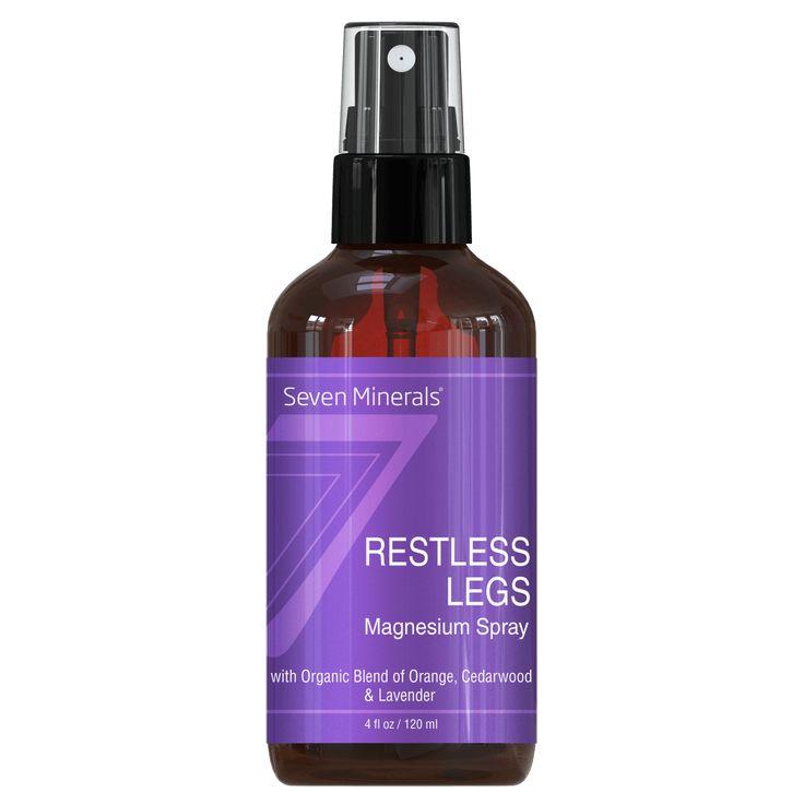 Restless Legs Magnesium Spray, 4 Oz  #magnesiumspray #restless legs  | Magnesium Spray | | restless legs | | restless legs essential oils | https://www.sevenminerals.com/