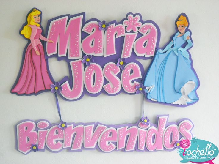 Maria Jose_Princesas Disney